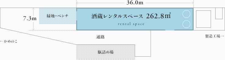 レンタルスペース見取り図