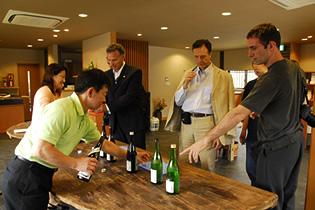 ワインとジェラートの国との異文化交流